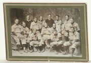 1903 Princeton Baseball Team Orig Cabinet Photo W/james Cooney And Other Notables