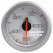 Fits Ford Dodge Chevy Etc Auto Meter Silver Airdrive Series Water Temp Gauge..