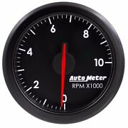 Fits Ford Dodge Chevy Auto Meter Black Airdrive Series Tachometer..