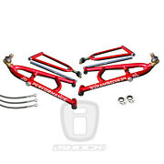 Jd Performance Long Travel A-arms Brake Lines And Clamps Yamaha Yfz 450 '04-'05