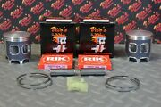 2 X Vitoand039s Performance Banshee Pistons + Rings 68.00 Stock Cylinder Big Bore