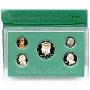 1994-s Proof Set United States Us Mint Original Government Packaging Box And Coa