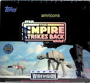 Star Wars Widevision Wax Box Topps The Empire Strikes Back Esb 1995 Amricons