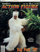 Tomart's Action Figure Digest 50 March 1998 Magazine New Unread Amricons H28