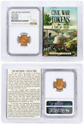 1861-1865 United States Our Army Civil War Token Ngc Ms63 Rd