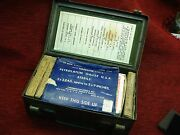 Vintage Bell Telephone A.t.andt. Installation Dept. First Aid Kit - Neat