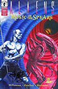 Aliens Music Of The Spears 3 Signed By Artist Tim Bradstreet