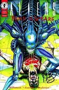 Aliens Music Of The Spears 4 Signed By Artist Tim Bradstreet
