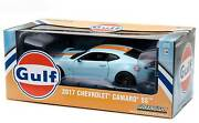 Greenlight Collectibles 2017 Chevy Camaro Ss Gulf Oil 1/24 Scale