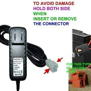 Wall Charger Ac Adapter For Kt1123tr Kt1123 Kid Trax Minnie Mouse Ride On 6v Bat