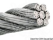 Osculati Wire Rope Aisi 316 133-wire 5 Mm