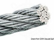 Osculati Wire Rope Aisi 316 49-wire 4 Mm