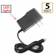 Ac/dc Power Supply Adapter Charger Cord For Garmin Rv 660 Lm/t Gps Navigator