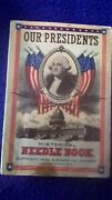 1926 Our Presidents Historical Needle Book N Shure Co Chicago Illinois