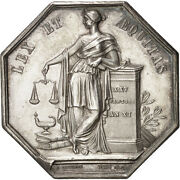[401247] France Notary Token Au55-58 Silver 34 Lerouge 161 18.60