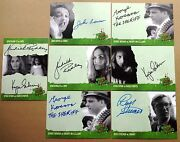 Night Of The Living Dead Autograph And Foil Trading Card Selection - Unstoppable
