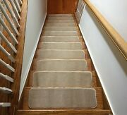 Liva Soft Set Of 7 Or 13 Indoor Skid Slip Resistant Stair Treads 8.5 X 30 Inch