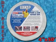 Eternabond Rv Roof And Leak Repair Tape 4 X 50and039 Roll - White Authentic