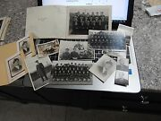 Ww2 Era Stevenston Naval Medley Of Photographs With Autographs To Research