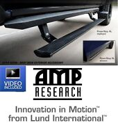 Amp Research Powerstep Xl Running Boards Fits And03904-and03907 Ford Super Duty Crew Cab