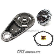 Timing Chain Kit Water Pump For Buick Chevy Pontiac Oldsmobile 3.1l 3.4l 3.5l V6