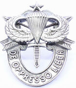 Special Forces Sr Jump Wing Crest Di Hat Pin Us Army Airborne Oda Insignia