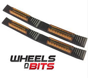 2 Door Guard Strip Protector W/ Amber Reflectors Stops Dent Chips For Bmw And Mini