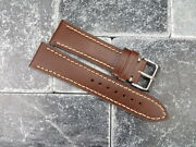 23mm Victorinox Swiss Army Leather Strap Band Infantry Vintage Chronograph Db X1