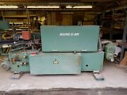 Edgebander- Woodworking Machinery Used 3 Phase Electric.