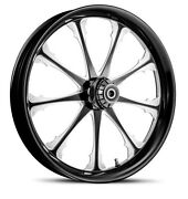 Dna Greed Black Forged Billet Wheel 21 X 3.25 Front Harley Softail