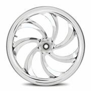 Dna Storm Chrome Forged Billet Wheel 18 X 10.5 Rear Harley 280-300 Tire