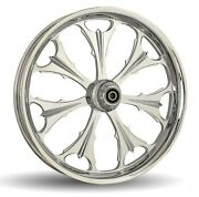 Dna Beast Chrome Forged Billet 23 X 3.75 Front Wheel Harley 2000+ Touring