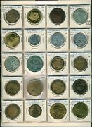 Us Coin Club Medals 55pieces Mostly From 1960's And 70's Includes Some Show Medals