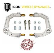 Icon Delta Joint Billet Upper Control Arm Kit For 05-21 Toyota Tacoma 58550dj