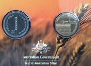 2012 Australian Wheat Fields Of Gold Two Coin Uncirculated Very Scarce