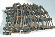 American Flyer    Curve Track Section  20  Total  S Scale