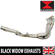 Gsxr 1000 2012 2013 2014 2015 2016 L2-l6 Exhaust Race Down Pipes Decat Collector
