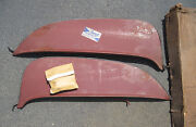 New Old Stock Foxcraft Fender Skirts 1965 Comet With Mounting Clips
