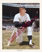 Mickey Mantle Superb Set Of Two Photos 8 X 10 And 8 X 12 One Set In Stock Now