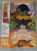 Dragon Ball Z Movie Pack Collection One 1 Movies 1-5 - Dvd Box Set - Sealed