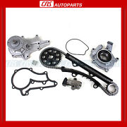 Fits 83-84 Toyota 2.4l Single Row Timing Chain Water And Oil Pump Kit 22r, 22rec