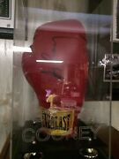 Gerry Cooney Autographed Signed Boxing Glove Engraved Glass Case Heavyweight Htf