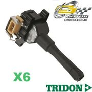 Tridon Ignition Coil X6 For Bmw M3r E36 01/95-12/00 6 3.0l M3r