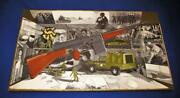 Acrylic Trompe Land039oeil Painting By Pat Rosenstein They Make War Toys Donand039t They