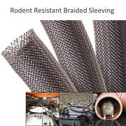 Rodent Resistant Expandable Braided Sleeving For Mouse And Rat Repellent