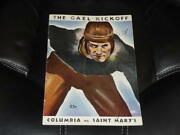 1934 Columbia At Saint Mary's College Football Program St Mary's 61-0 Ex-mint
