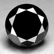 0.90 Cts. Certified Round Black Aaa Quality Loose Natural Diamond Wholesale Lot