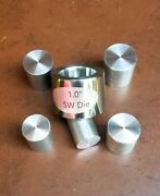 1 Coin Ring Tools 7anddeg Die For Swedish Wrap Method Sw With 5 Push Rods
