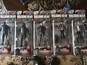 Mcfarlane The Walking Dead Figures Series 4,5 And 6