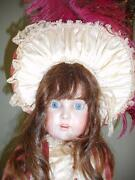 Antique 31 Kestner 171 Bisque Head Doll W/ Period Style Clothing And Hat